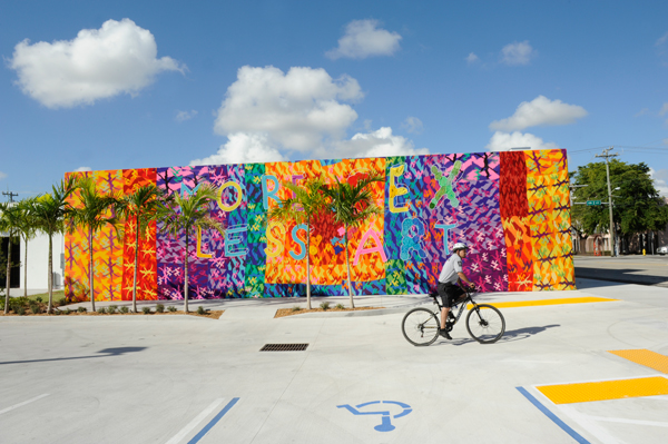 Wynwood area in Miami, USA.