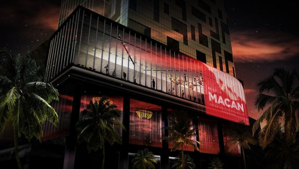 The first Modern and Contemporary Art Museum in Indonesia, Museum MACAN.