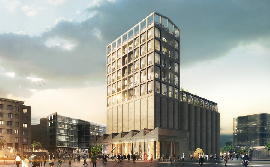 The Zeitz Museum of Contemporary Art Africa,due to open this September 2017 in Cape Town, Africa.