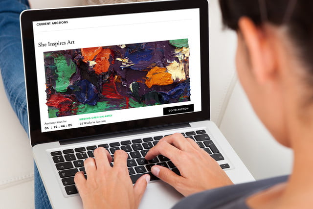 Traditional art businesses like Sotheby's now offer their auctions online. Ever since Sotheby's decided to adapt to the digital age and introduce and invest in online platforms, the growth in online art sales has picked up substantially.