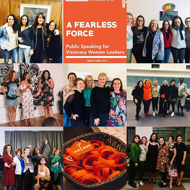As we conclude 2018 and look to 2019, a quick moment to acknowledge the 36 women who participated in our Fearless Force program in 5 cities across 3 continents.  Special thanks to both @bpelteson and @driscolldebra who partnered with me to hold space for their stories and voices to emerge and the rest of #teamfearless and @lindasfern53 for all the work and Werk to make this magic happen. . . . #nobigdeal #fearless #storytelling #publicspeaking #afearlessforce #werk #yas #kween #telaviv #newyork #melbourne #sydney #brisbane #israel #usa #australia #women #futureisfemale