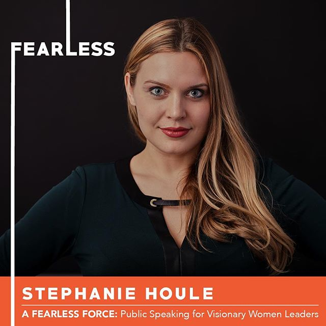 So excited to share with you Stephanie Houle one of our six participants in Circle 11 of A Fearless Force.  She is an entrepreneurial creative leader based in NYC. She currently leads a digital design team, focused on website innovation, at Macy's. She also runs her own creative agency and design studio, concentrating on graphic design and photography. She believes everyone is creative.  Join us on Thursday at 6pm to hear Steph share her original TED style speech at CSI.  Tix in bio. . . . #nobigdeal #nailingit #werk #yas #storytelling #publicspeaking #leadership #inclusion #creative #creativity #creator