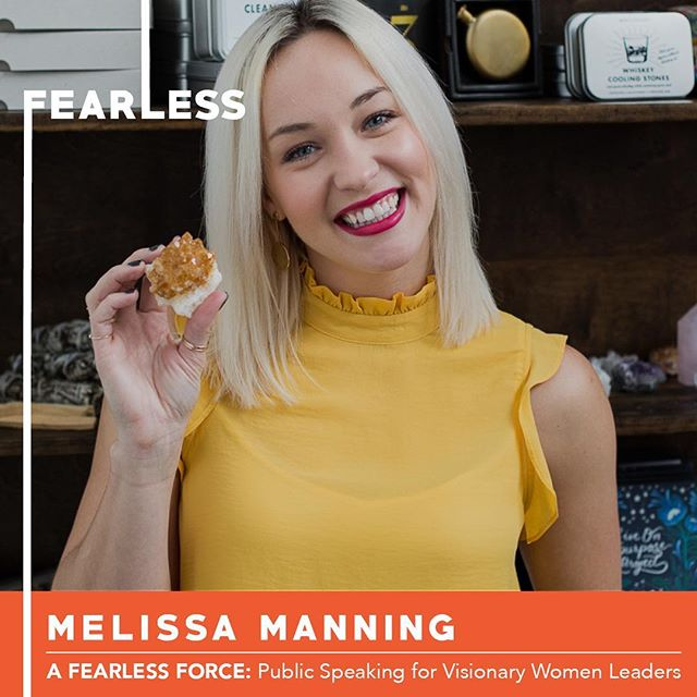 So excited to share with you Melissa Manning, another of our six participants in Circle 11 of A Fearless Force.  She is a successful entrepreneur in Brooklyn, NY. She has started numerous businesses and with her team currently operates 5 of them with a few more in the works. Her latest business aims to motivate others to manifest their dreams through public speaking, digital media, and the written word!  Join us on Thursday at 6pm to hear Melissa share her original TED style speech at CSI.  Link for tix in bio. . . . #nobigdeal #nailingit #werk #yas #storytelling #publicspeaking #leadership #inclusion #creative #creativity #creator #manifest #women #womenempowerment