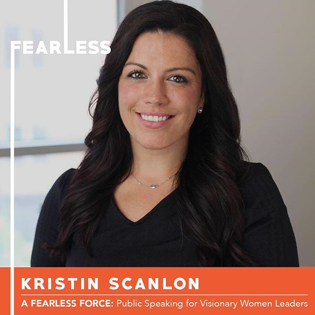 So excited to share with you Kristin Scanlon, another of our six participants in Circle 11 of A Fearless Force.  She is is the Business Development Coordinator for EXIT Realty Private Client. Her mission is to empower entrepreneurs to create a life that they love. She specializes in strengthening communications while maximizing entrepreneur's potential growth both professionally and personally. She recently launched Empower Hour, a community to help women build their best self.  Join us on Thursday at 6pm to hear Kristin share her original TED style speech at CSI.  Link for tix in bio. . . . #nobigdeal #nailingit #werk #yas #storytelling #publicspeaking #leadership #inclusion #creative #creativity #creator #manifest #women #womenempowerment