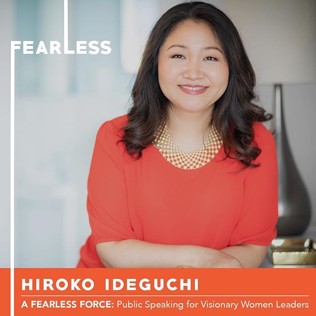 So excited to share with you Hiroko Ideguchi, our sixth participant in Circle 11 of A Fearless Force.  She is a love and relationship coach that helps her clients shape a new vision for partnership, break old patterns, shift their mindset, be in action and build new patterns to attract the right partner and create a relationship of their dreams.  Join us on Thursday at 6pm to hear Hiroko share her original TED style speech at CSI.  Link for tix in bio. . . . #nobigdeal #nailingit #werk #yas #storytelling #publicspeaking #leadership #inclusion #creative #creativity #creator #manifest #women #womenempowerment #power #network #kickballchange