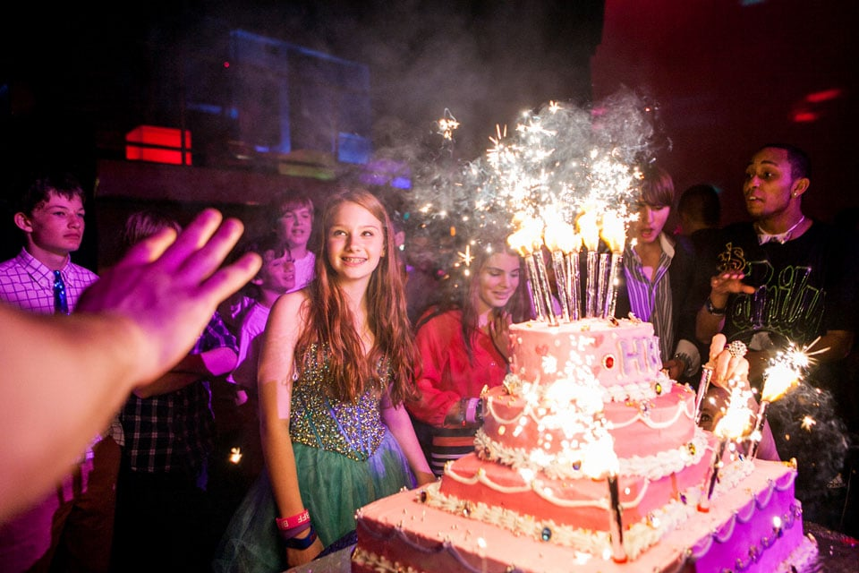 bat mitzvah celebration party cake photography 0013