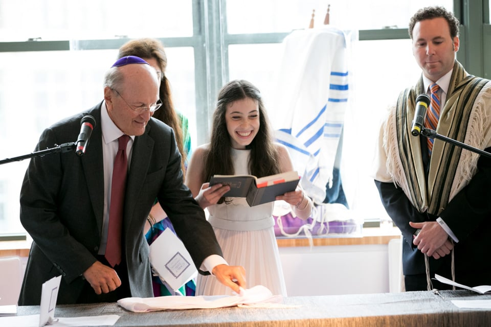 bat mitzvah cake celebration photography 0013