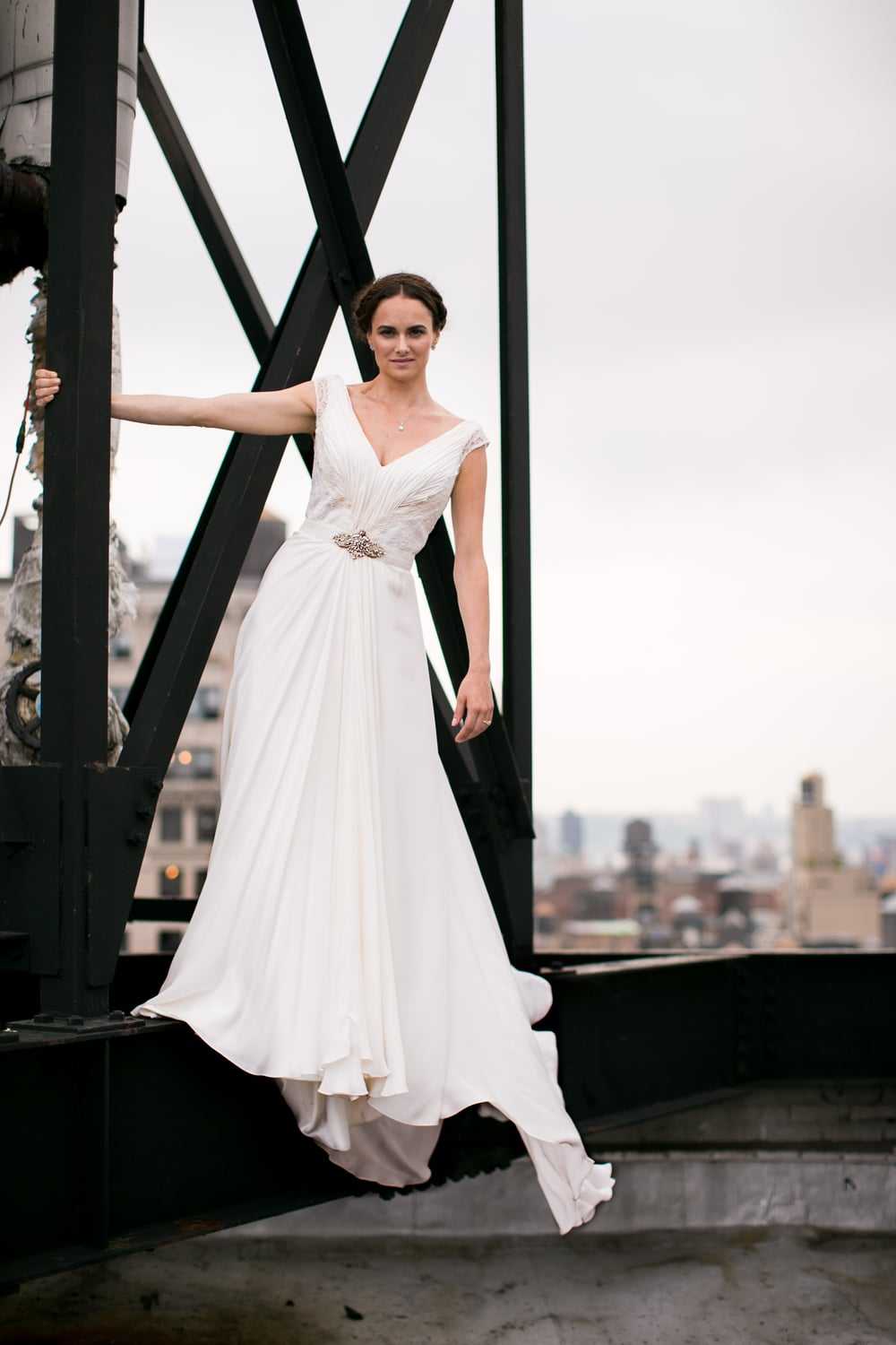 bride wedding dress nyc view photography 0041