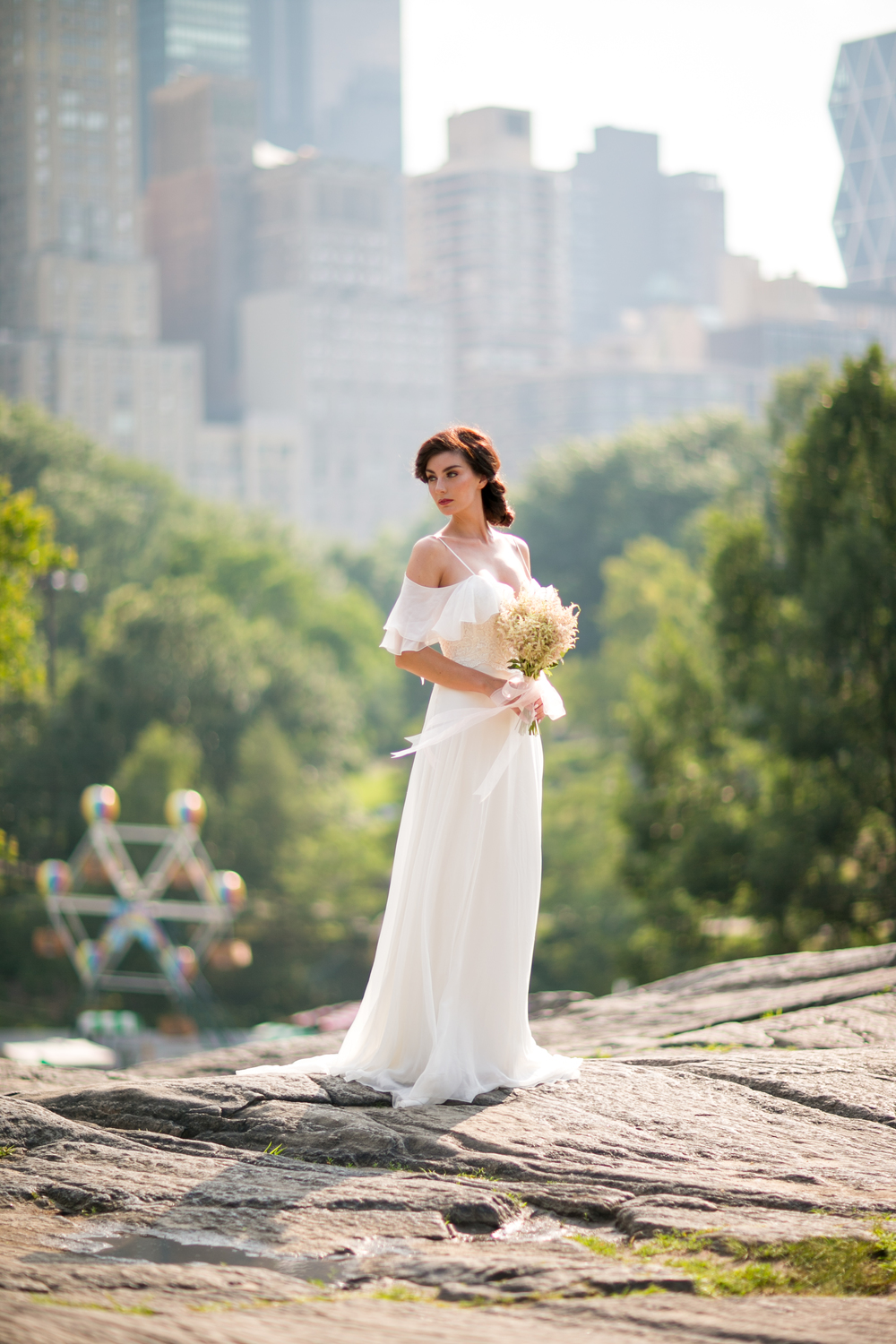 central park wedding dress photography 0045