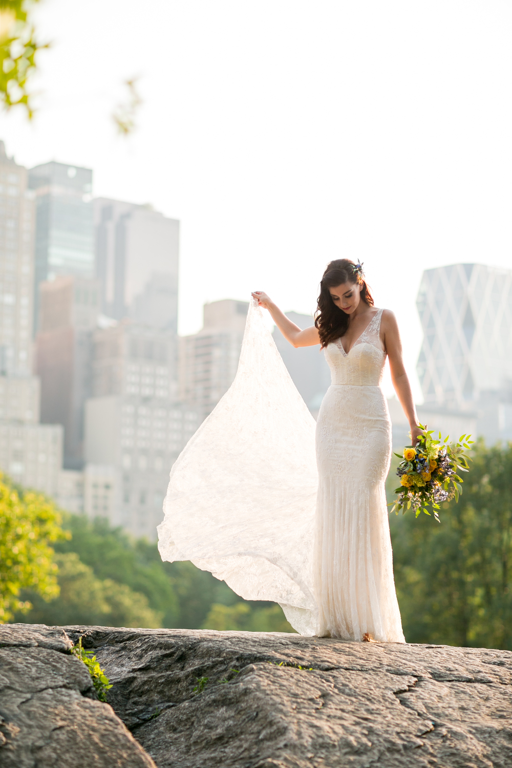 central park wedding dress bride photography 0045