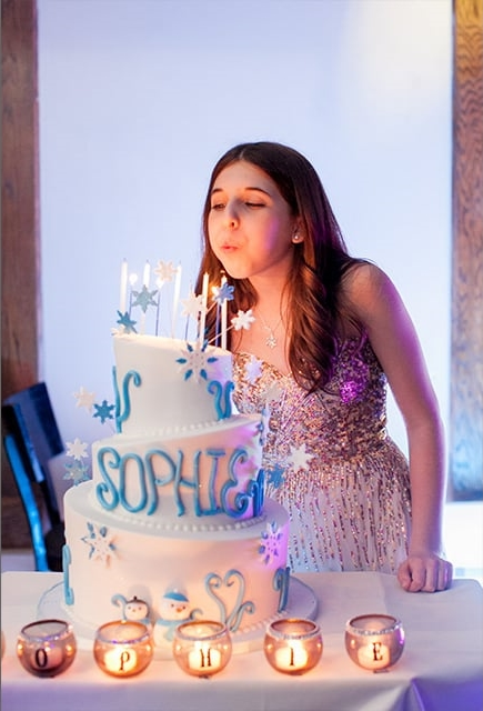 girl bat mitzvah celebration cake photography 0009