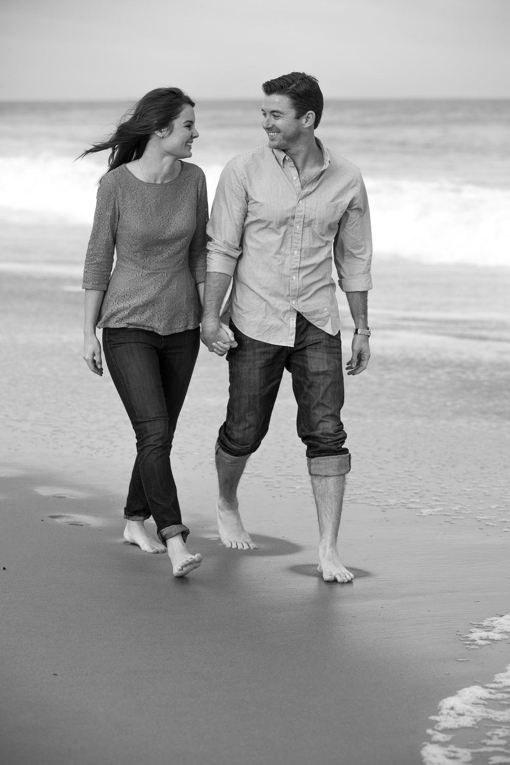 beach engagement photography 0001