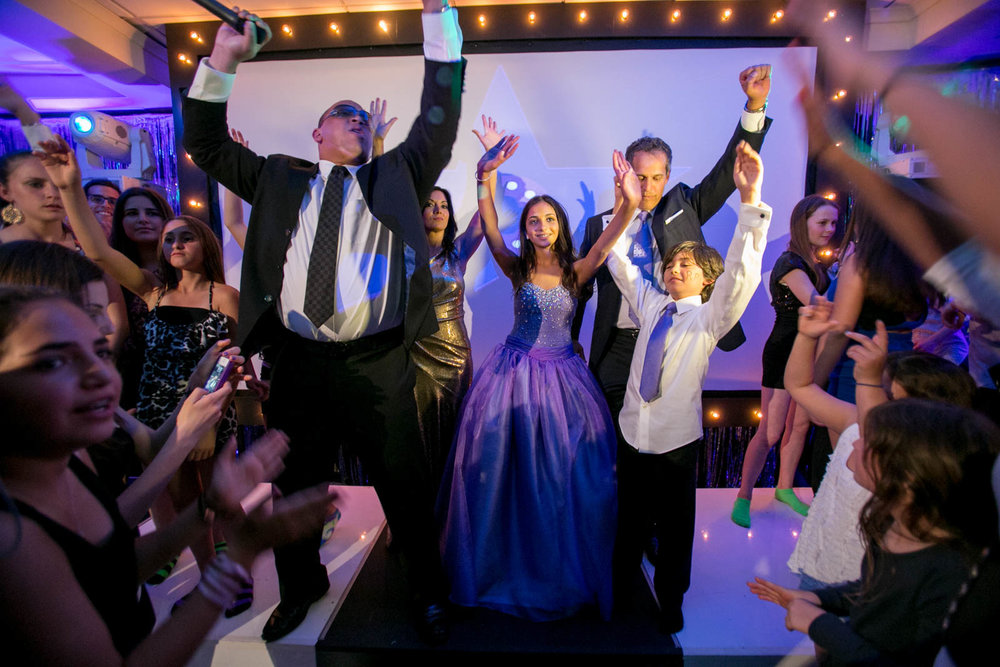 bat mitzvah celebration family party photography 0023