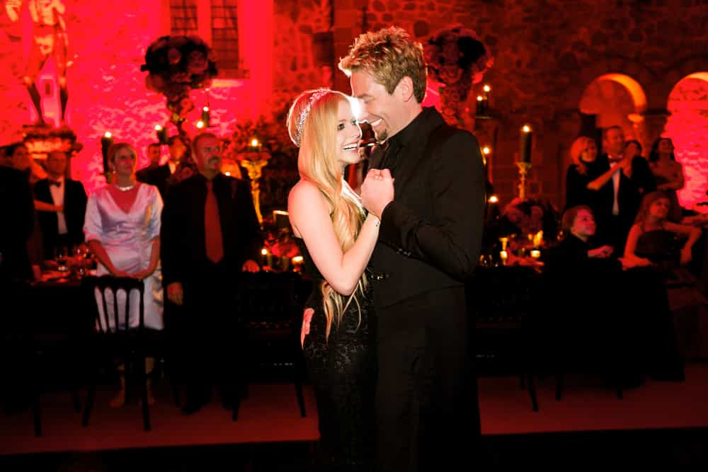 avril lavigne and chad kroeger wedding photography 0001
