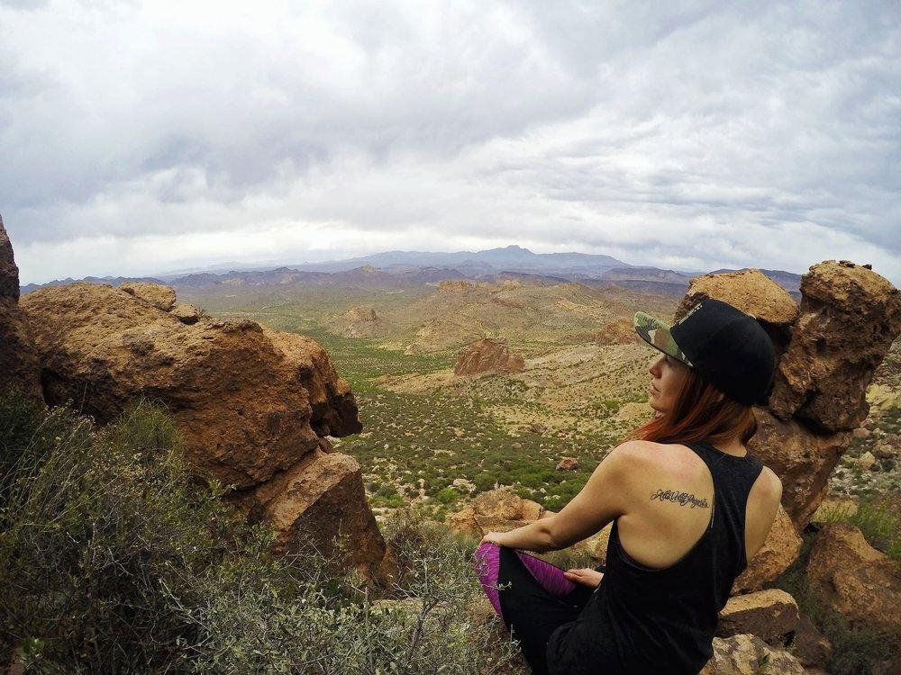 Emily Rudolph of Sahuaro Media - Superstition Mountains, AZ