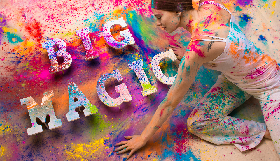 CREATIV x Big Magic: Art Direction (Collab), Set Design, Model