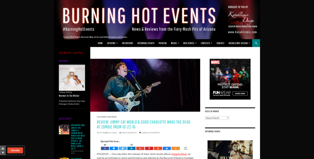 BURNINGHOTEVENTS.COM