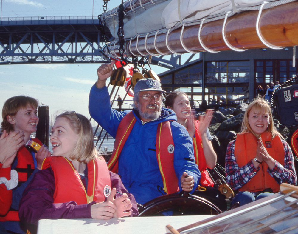 Jean-Michel Cousteau on the LIFEboat Flotilla.