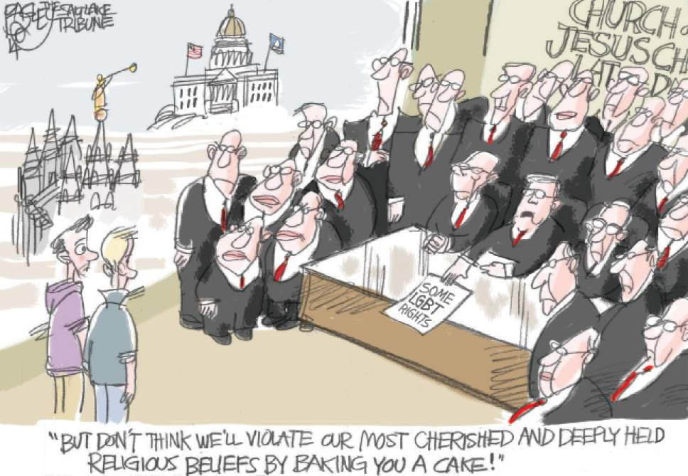 Editorial cartoon courtesy of Pat Bagley | Salt Lake Tribune