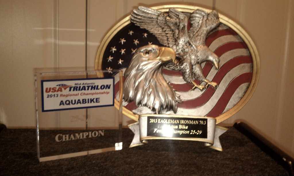 Female 25-29 USAT Mid-Atlantic Aquabike Champion