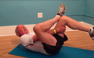 Lighter Piriformis stretch - stretch