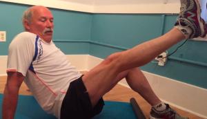 """Piriformis """"Pin and Stretch"""" - stretch"""
