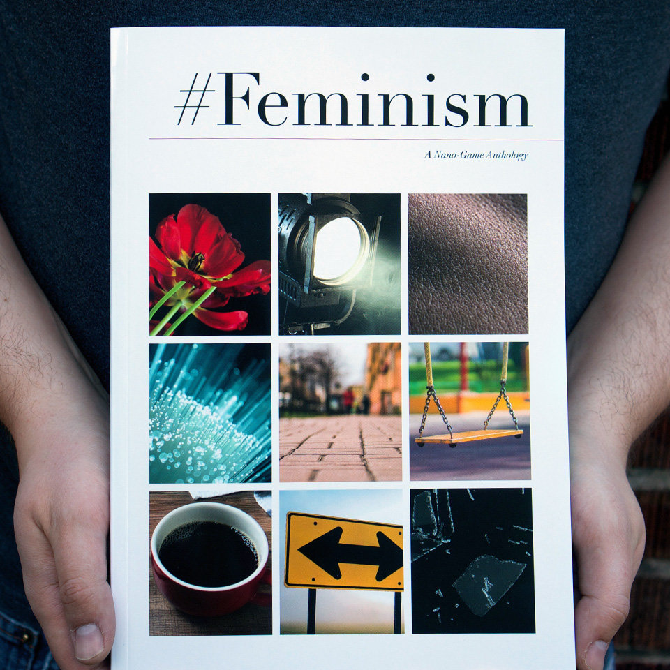 #Feminism anthology cover