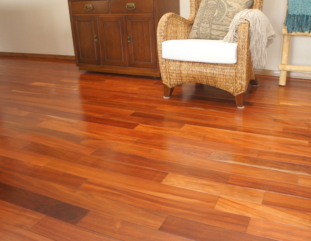 Brazilian Cherry Hardwood floors in Yucaipa, CA