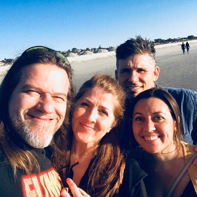 Wonderful spending time with friends at Cardiff by the Sea!! 🏝 ❤️ @tiffy_froese @carltedesco  #funtimes #beach #cardiffbythesea #friendship #greatday #socal #sunset #sunsetbeach #goodtimes