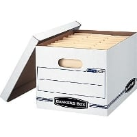 Bankers Box Economy      Storage Boxes,12 count