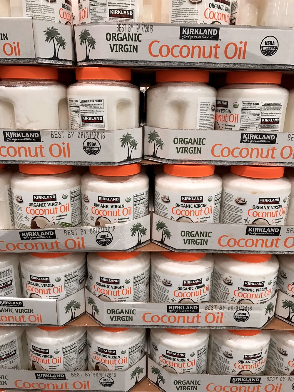Hite nutrition blog kirkland organic coconut oil is cold pressed and unrefined which i love my husband and i make our popcorn with coconut oil so we really appreciate a nvjuhfo Images