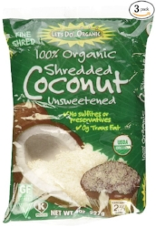 Let's Do Organic Shredded, Unsweetened              Coconut
