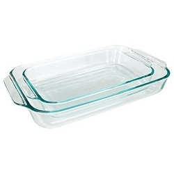 Pyrex Clear Glass Baking                    Dishes