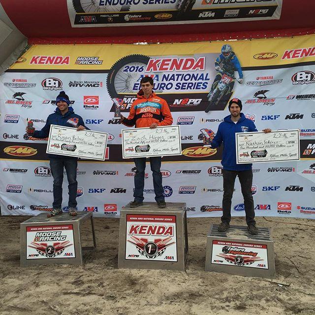 AA/Expert podium. Zack Hayes, Ryan Belue, Nathan Ferderer #nepg #Enduro