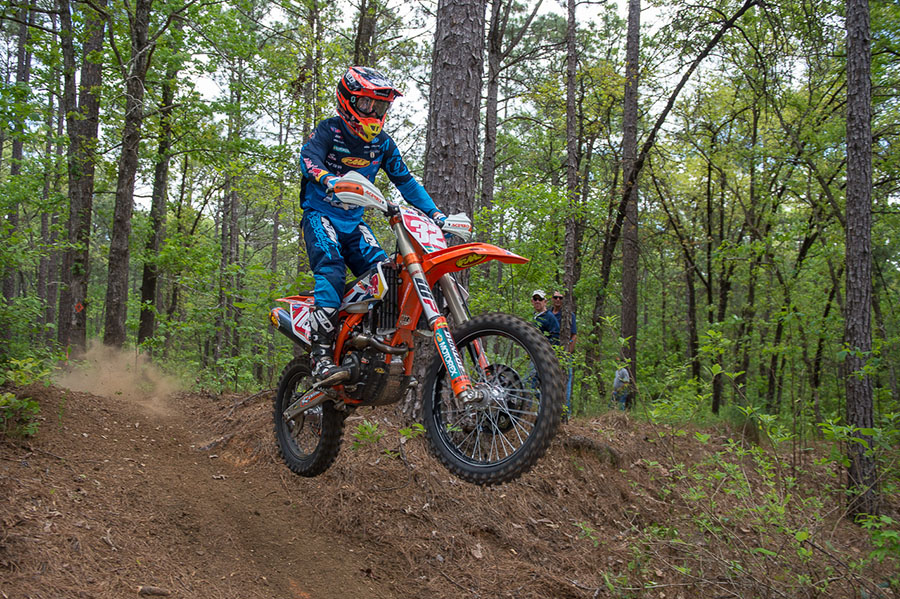 FMF KTM Factory Team Captures Two Podium Finishes at Cajun Classic National Enduro