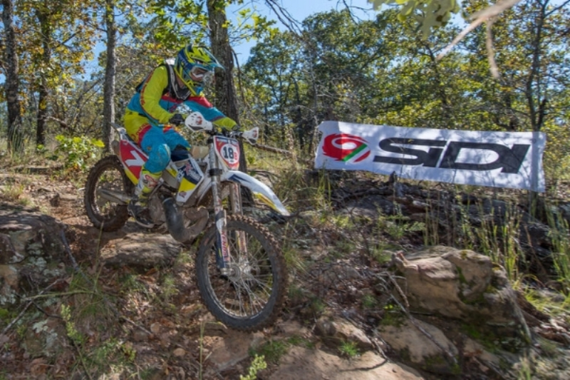 JD at Oklahoma's Zink Ranch National Enduro