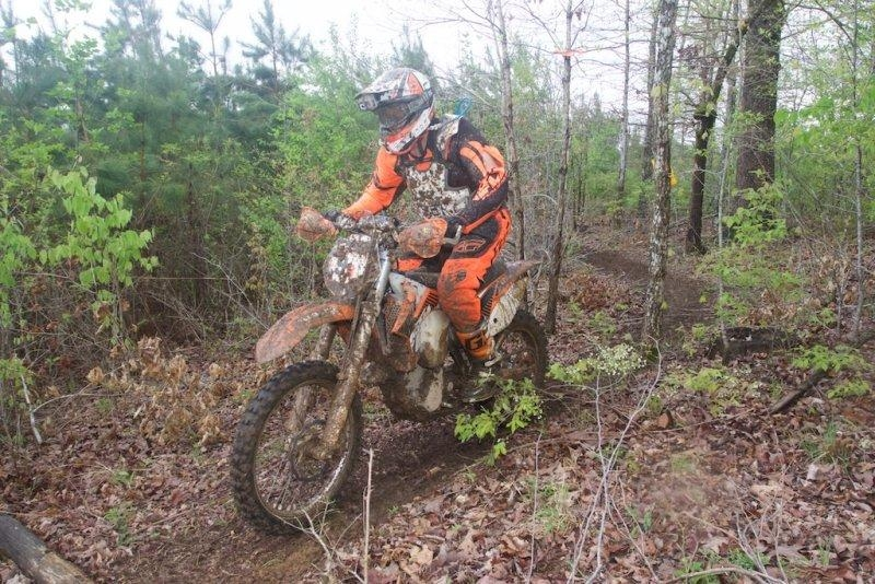 Craig at the Rad Dad National Enduro in Tennessee.