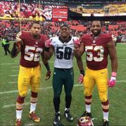 Keenan Robinson, Jordan Hicks, Jackson Jeffcoat