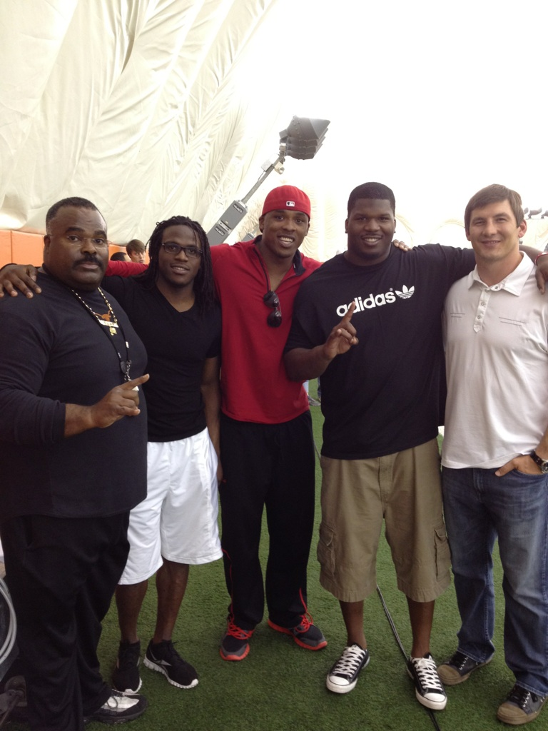 Coach Madden, Jamaal Charles, Jermichael Finley, Kheeston Randall, David Thomas