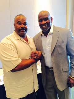 "Coach Madden, Chris Gardner famous Author, Investors, International Motivation Speaker. ""Pursuit of Happyness"""