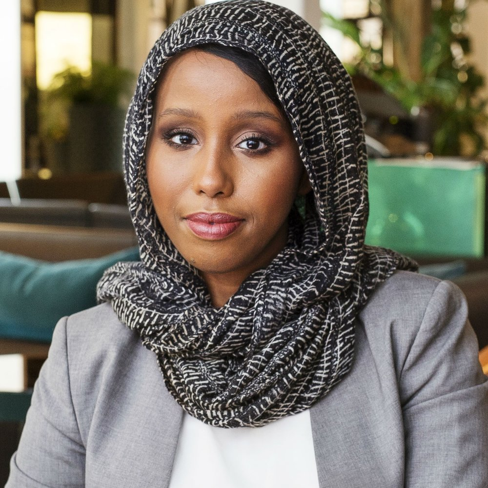 Faduma Aden   Founder & Advisor  Passionate about creating solutions that have positive impact on businesses, people and society. Experienced in diversity management bringing insight and strategic advice to a wide range of industry from recruitment companies, tech to advertising agencies. Nominated and r eceived awards for innovation and two awards for diversity;KPMG's Future Challenge and Filip Nilsson Scholarship  by the leading advertising agency Forsman & Bodenfors. The latter lead to working on campaigns for H&M, Volvo Cars and Åhléns.    Founder of the fashion brand  Jemmila .   Msc in Strategic IT Management, and Bachelor in Business Administration,Stockholm University.  Languages: Swedish, English and Somali.  Contact:  faduma@contelier.se