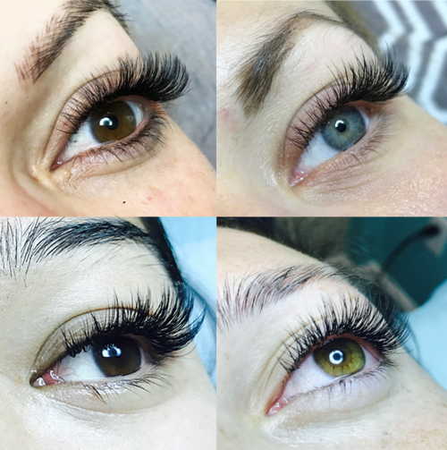 da3f9db53a0 Pictures above are actual eyelash extensions done at Eve Beauty Lash and  Permanent Makeup Studio