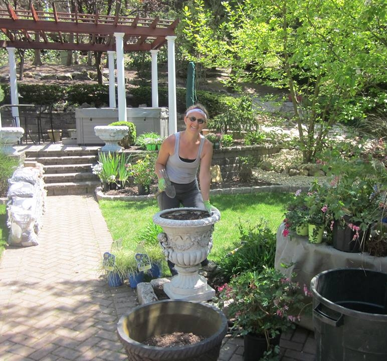 a message from Lori.. - As a horticultural artist, I transform outdoor spaces to better serve the needs of my client. Inspired by the beauty of flora, a devotion to color and a passion for design, I strive to show my clients how their landscape can be optimized to be lived in and enjoyed. I prioritize order, symmetry, and balance to create a space where we can engage all of our senses and let go of the complexity of living.
