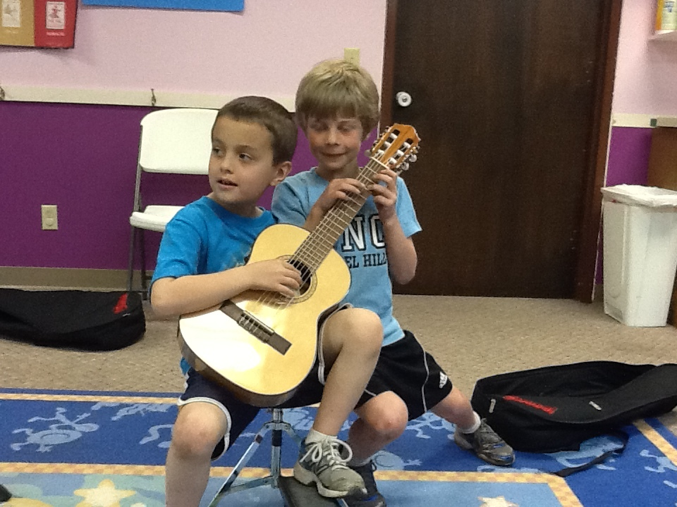 Suzuki method guitar group class