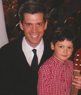 4 year old Suzuki guitar student
