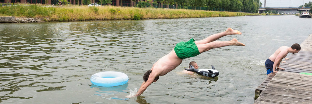 Big Jump, Kanaal Anderlecht
