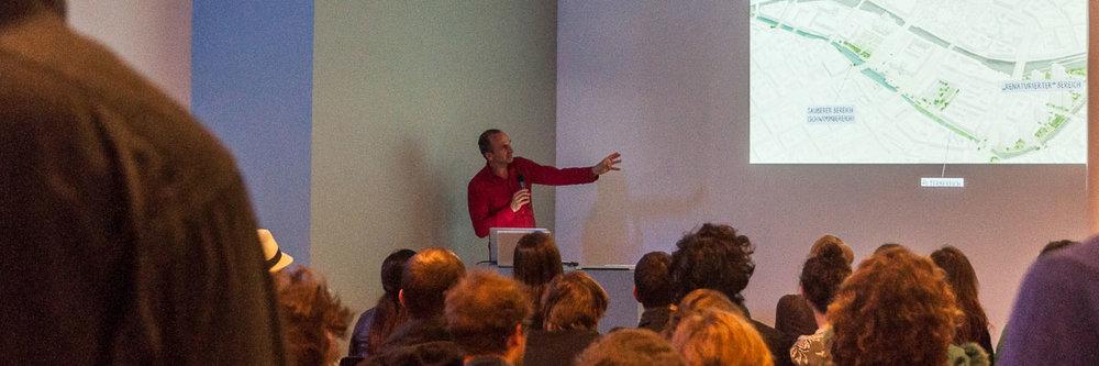 """Presentatie van """"Flussbad Berlin"""""""