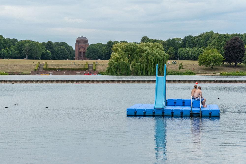 Stadtparksee, Hamburg