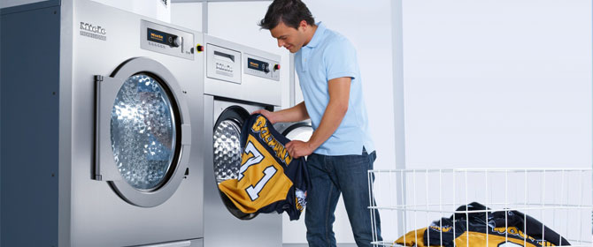 Athletics Washer & Dryer