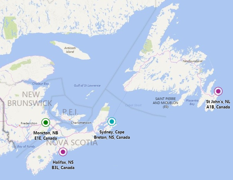 Locations East Coast Laundry Atlantic Canadas leading group in